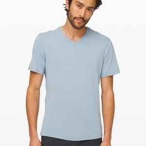 Lululemon 5 year T shirt basic Chambray large